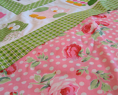 lecien pink flower sugar fabric