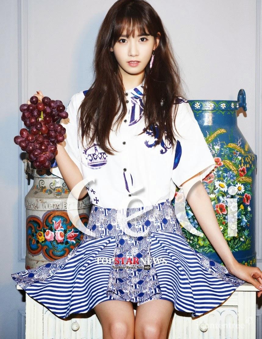 Yoona Girls' Generation CéCi yoona pictorial yoona magazine cover model yoona ceci cover model K pop K-pop enjoykorea Taeyeon Sunny Tiffany Hyoyeon Yuri Sooyoung Yoona Seohyun