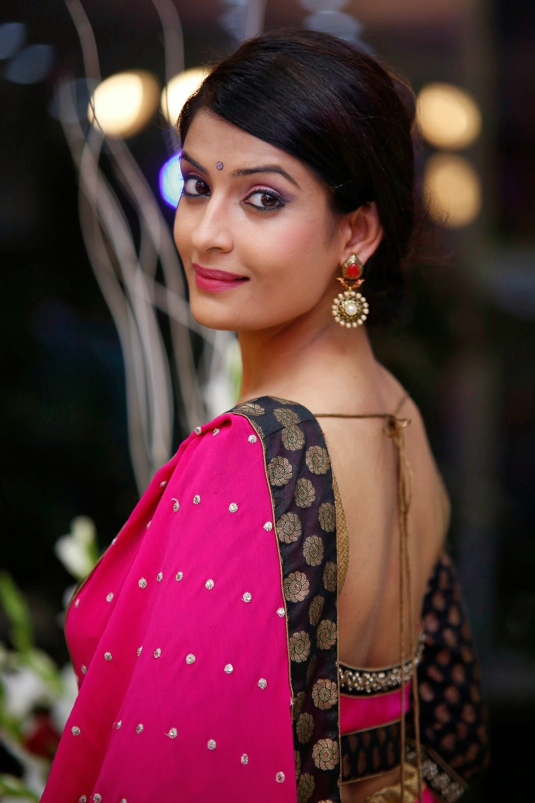 Akanksha latest Glam Pics in Pink-HQ-Photo-16