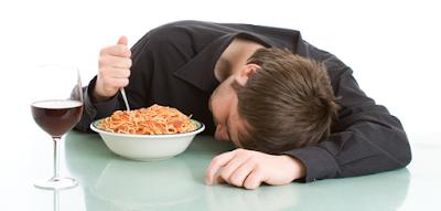 sonolencia depois de comer