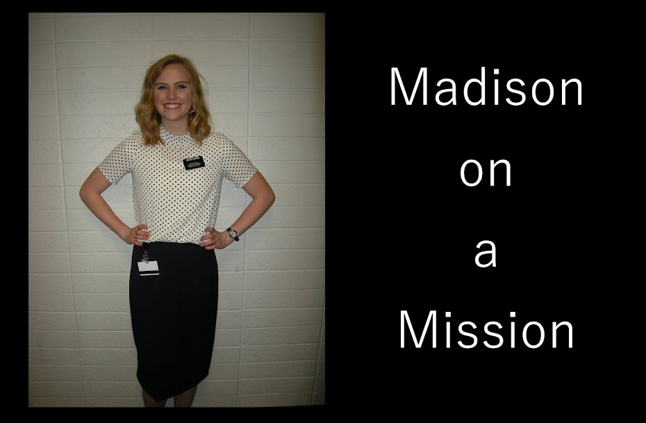 Madison on a Mission