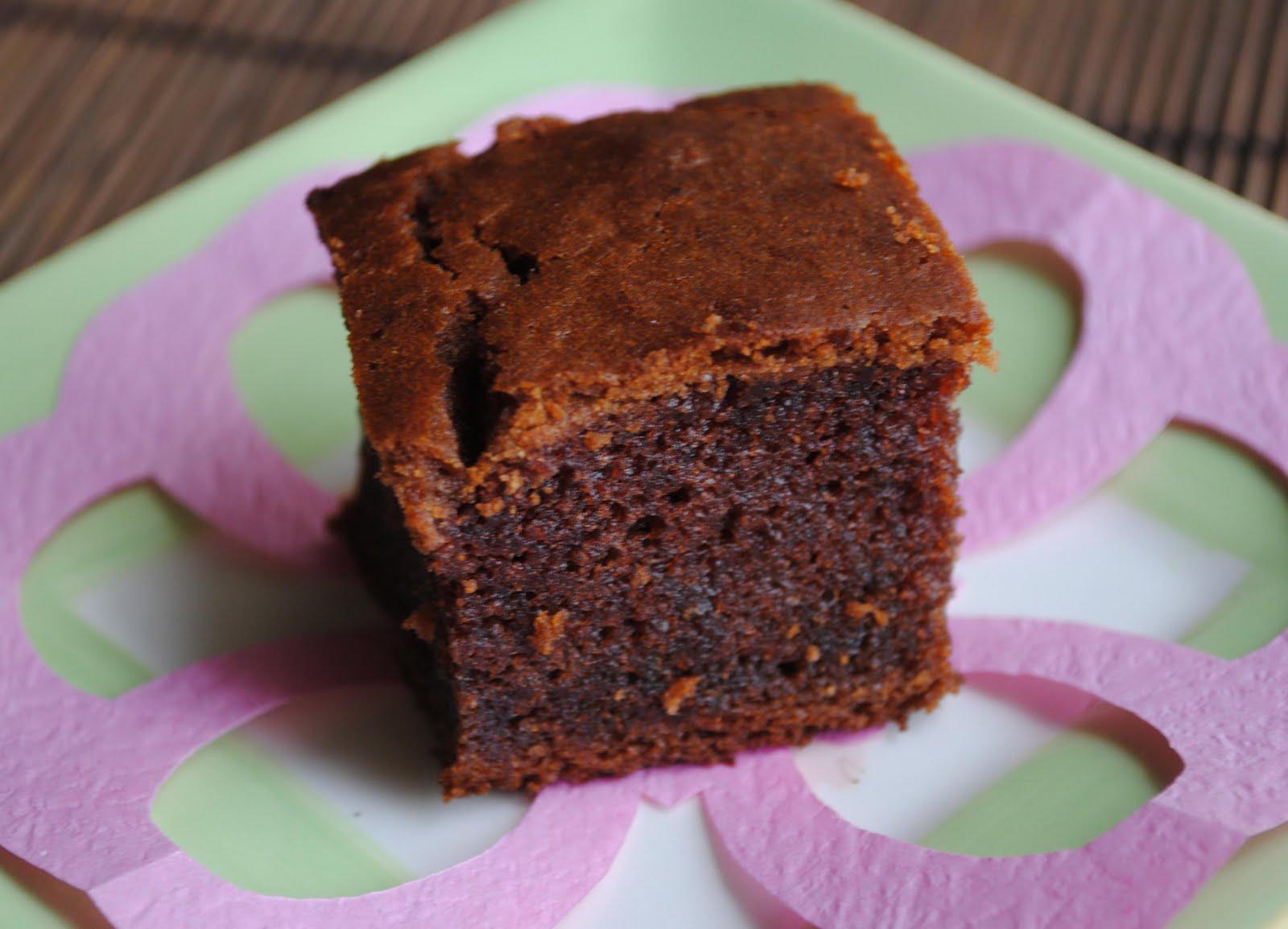 zakka life: Recipe: Cocoa Mochi Cake