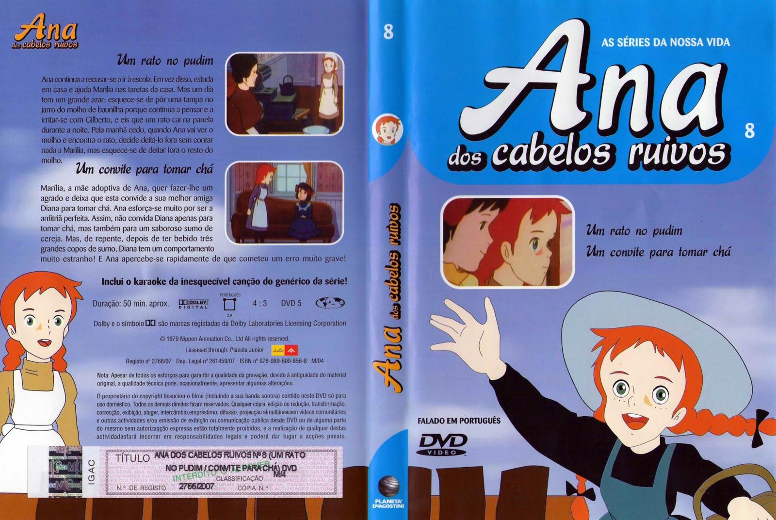 Ana dos Cabelos Ruivos Vol.1 A 25  PT-PT Ana+dos+Cabelos+Ruivos+Vol.8-capa