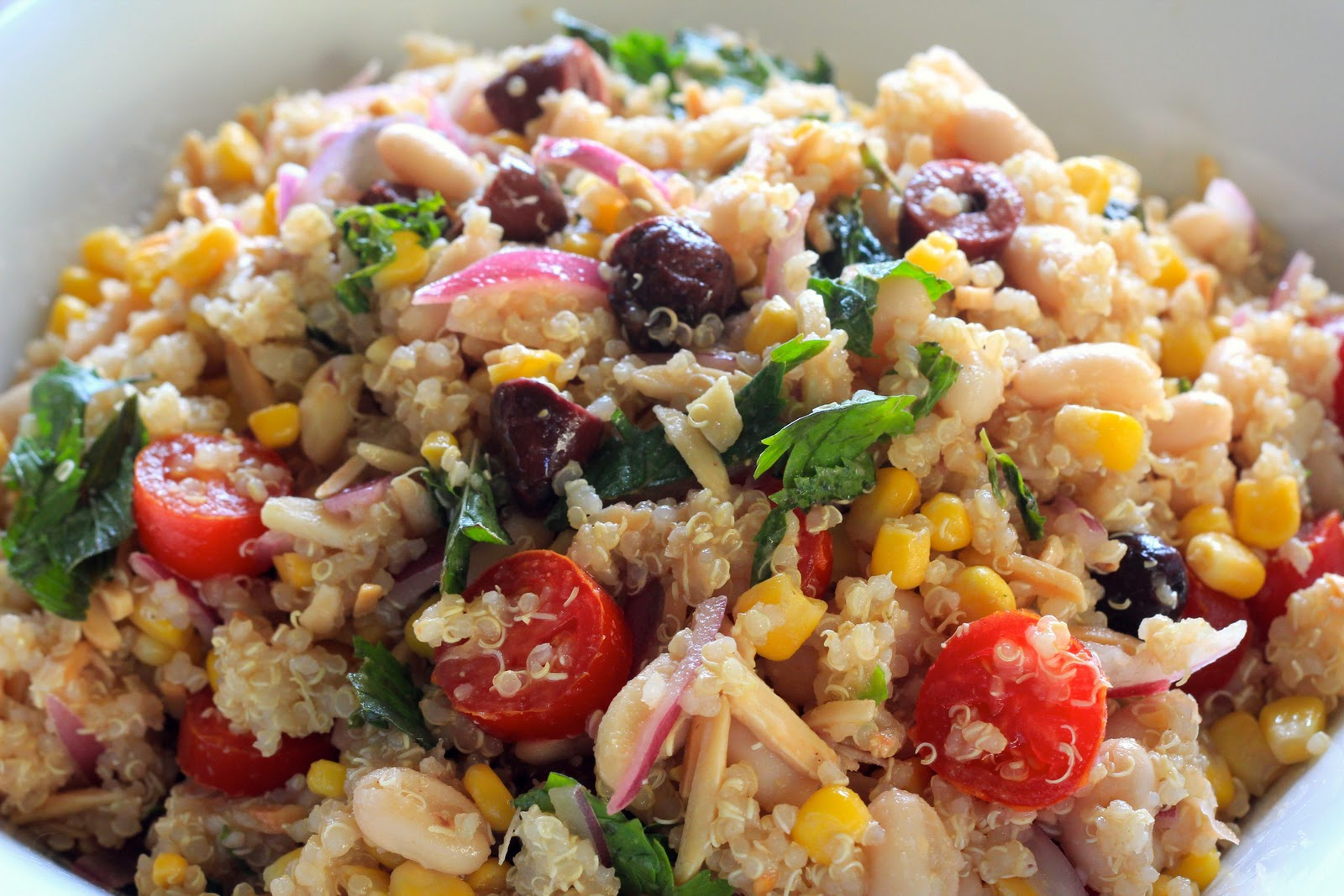 The Vegan Apprentice: Moroccan Quinoa Salad
