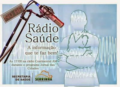 SERRINHA:SECRETARIA DE SAÚDE  LEVA INFORMAÇÕES TODOS OS DIAS