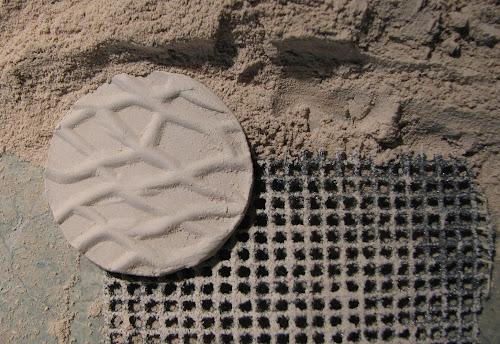 Obróbka suchej gliny