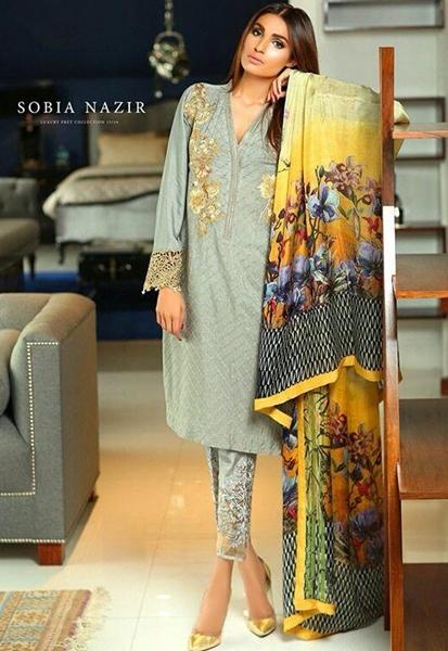 sobia nazir winter silk velvet embroidered dresses