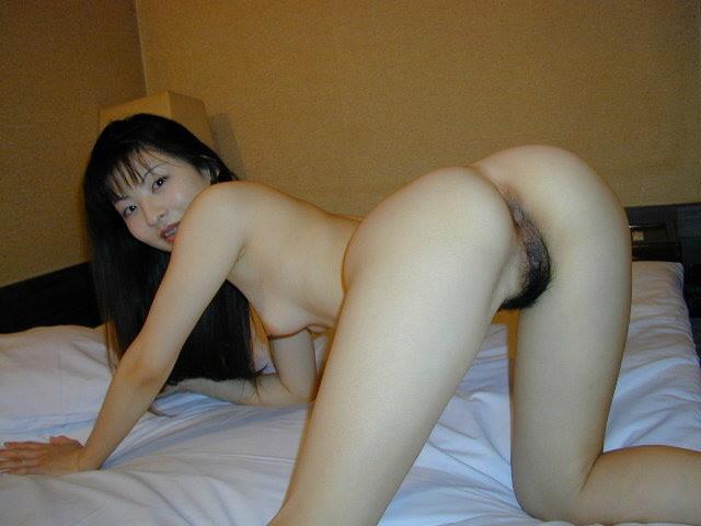 Nude woman spread wide