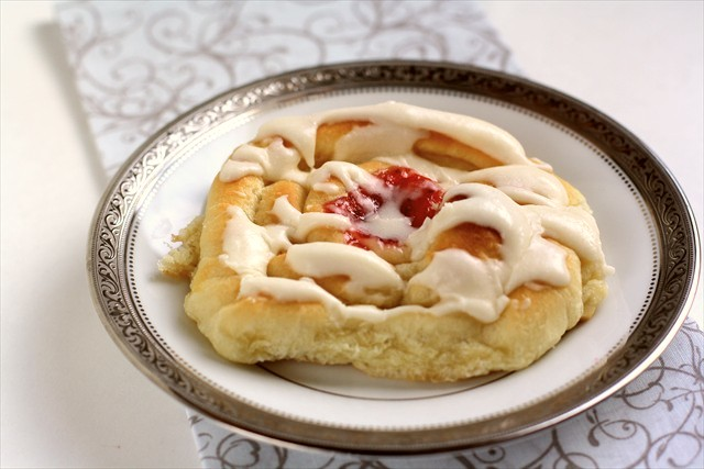 Strawberry Cream Cheese Butterhorn Danishes: Butter with a Side of Bread