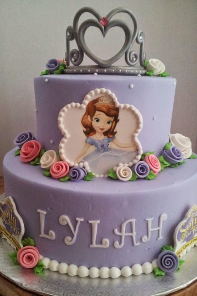 Tortas Decoradas de la Princesita Sofía