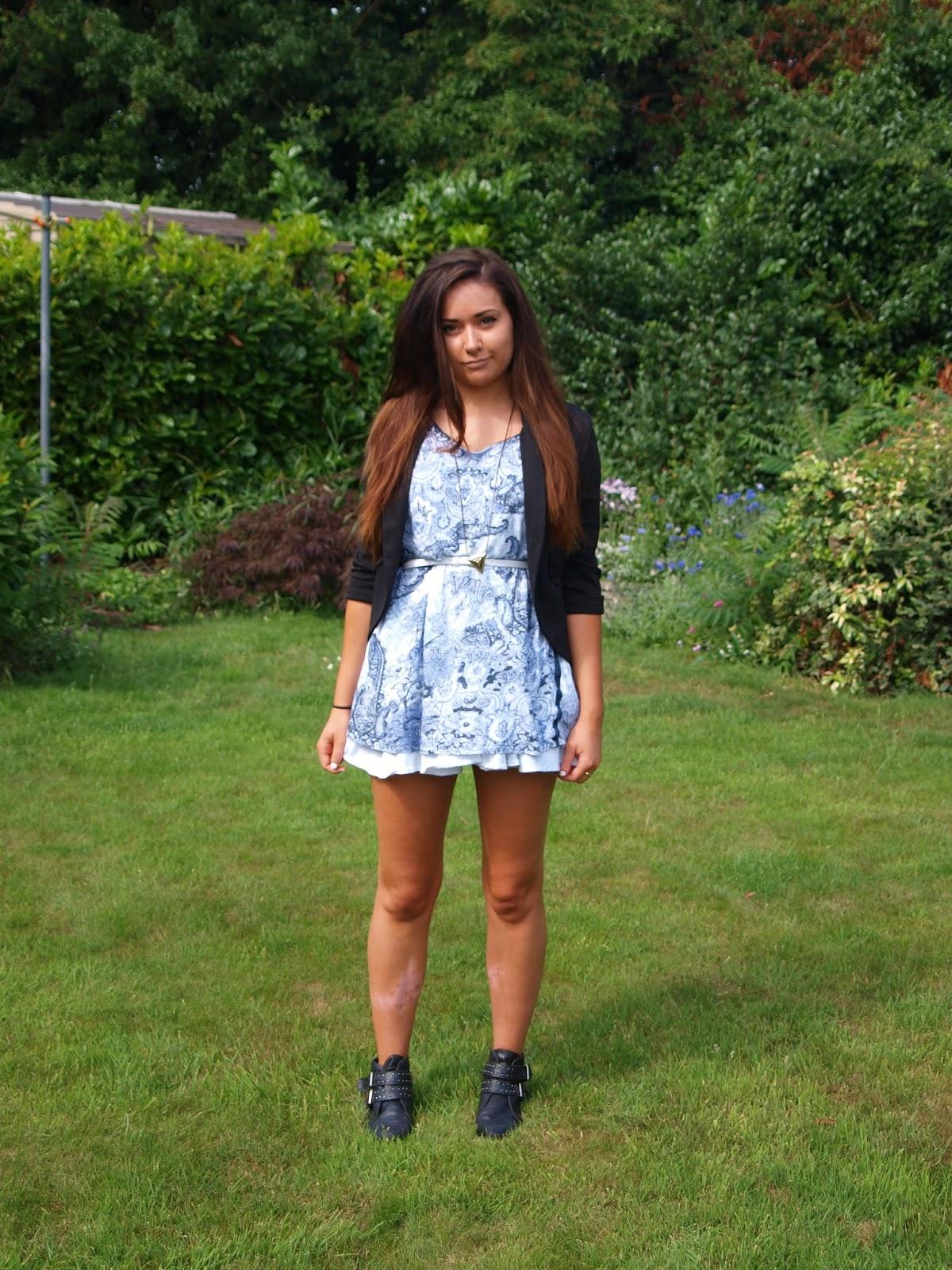 Marzia Bisognin Ombre T-shirt dress - zara (old)