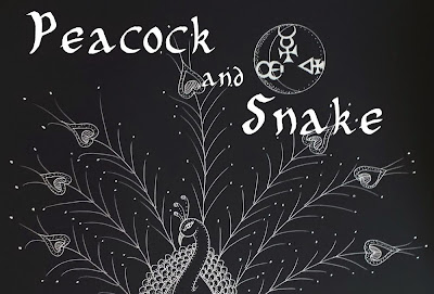 Peacock and Snake