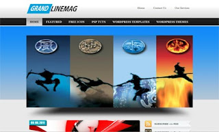 GrandLine Mag WordPress Theme