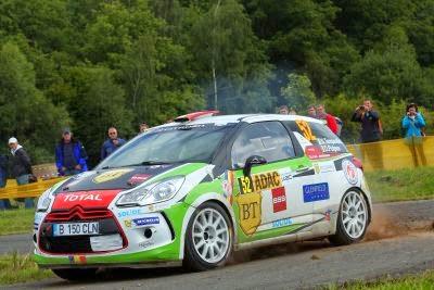 Simone Tempestini si Dorin Pulpea - Citroen DS3 R3 - Raliul Germaniei - JUNIOR WRC