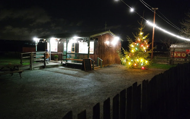 Beamish Museum Christmas Evening Night