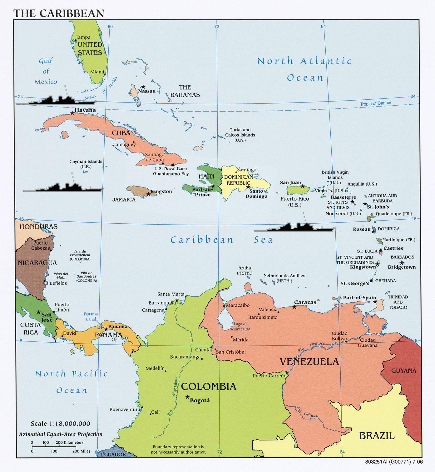 Caribbean: EagleSpeak: Sea Lines Of Communication Or Sea Lanes