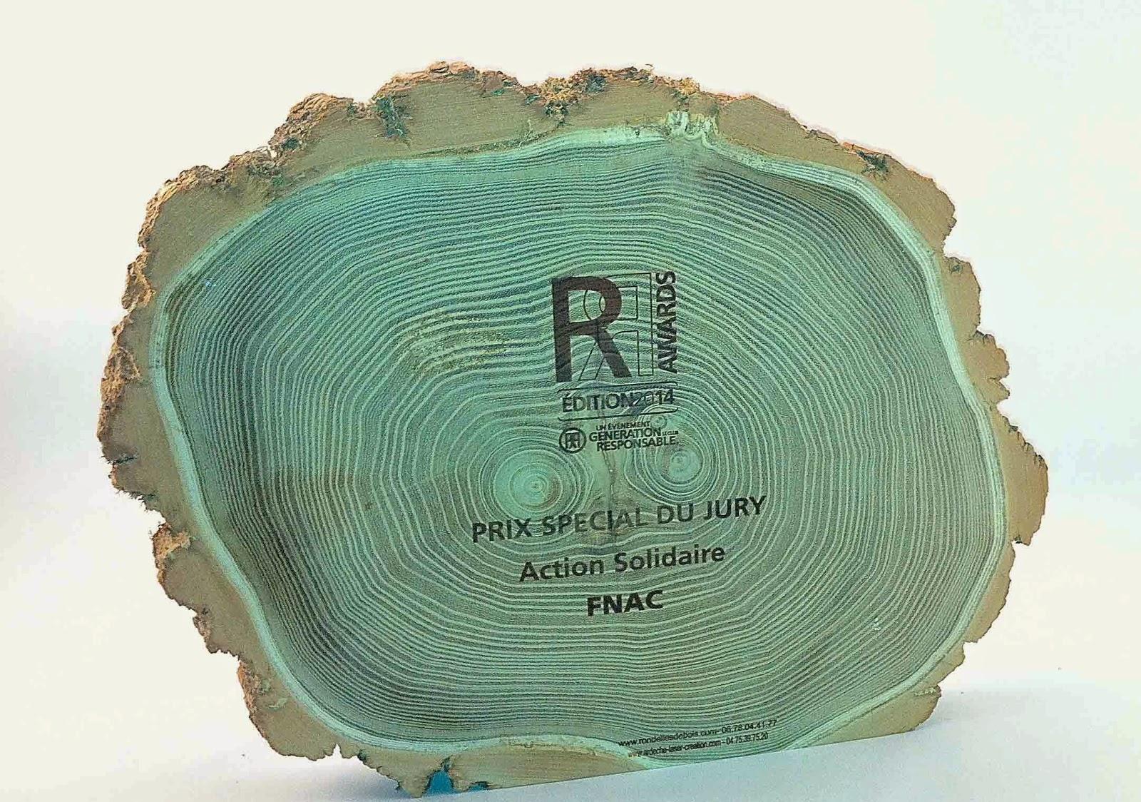 rondelle de bois de robinier