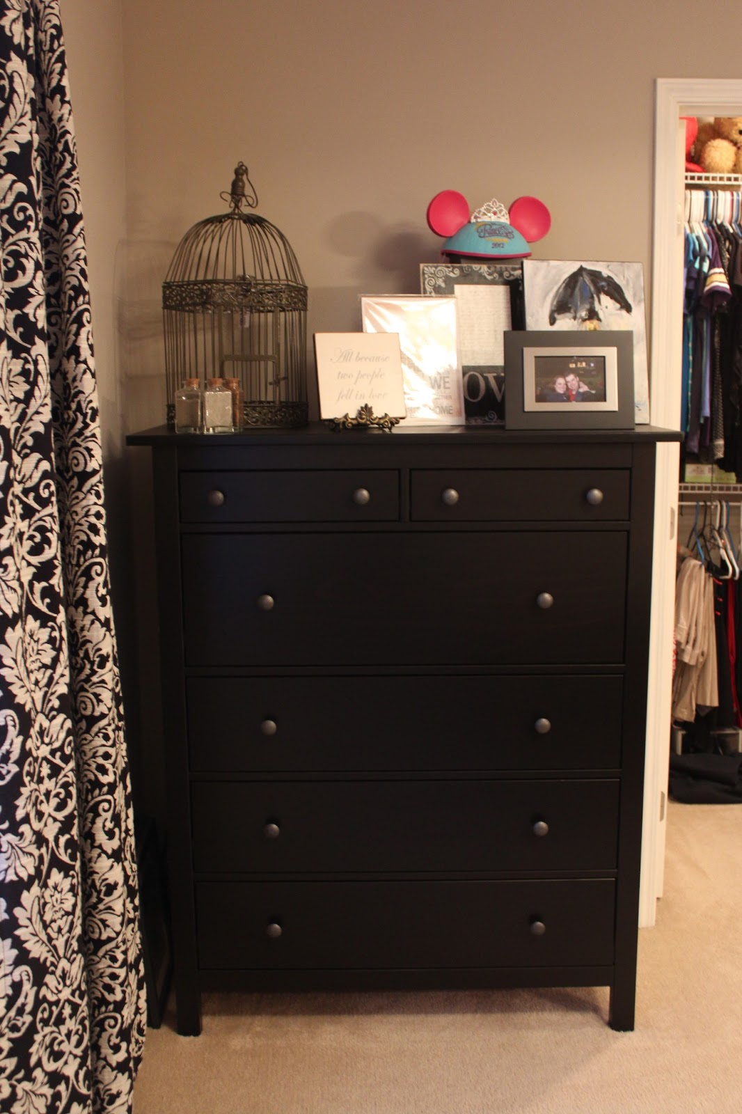Love K The Slowest Makeover Of All Time 6 Drawer Chest 8 Starter Bedroom Suit For 1000 Ikea Hemnes Review From Faye Black Brown