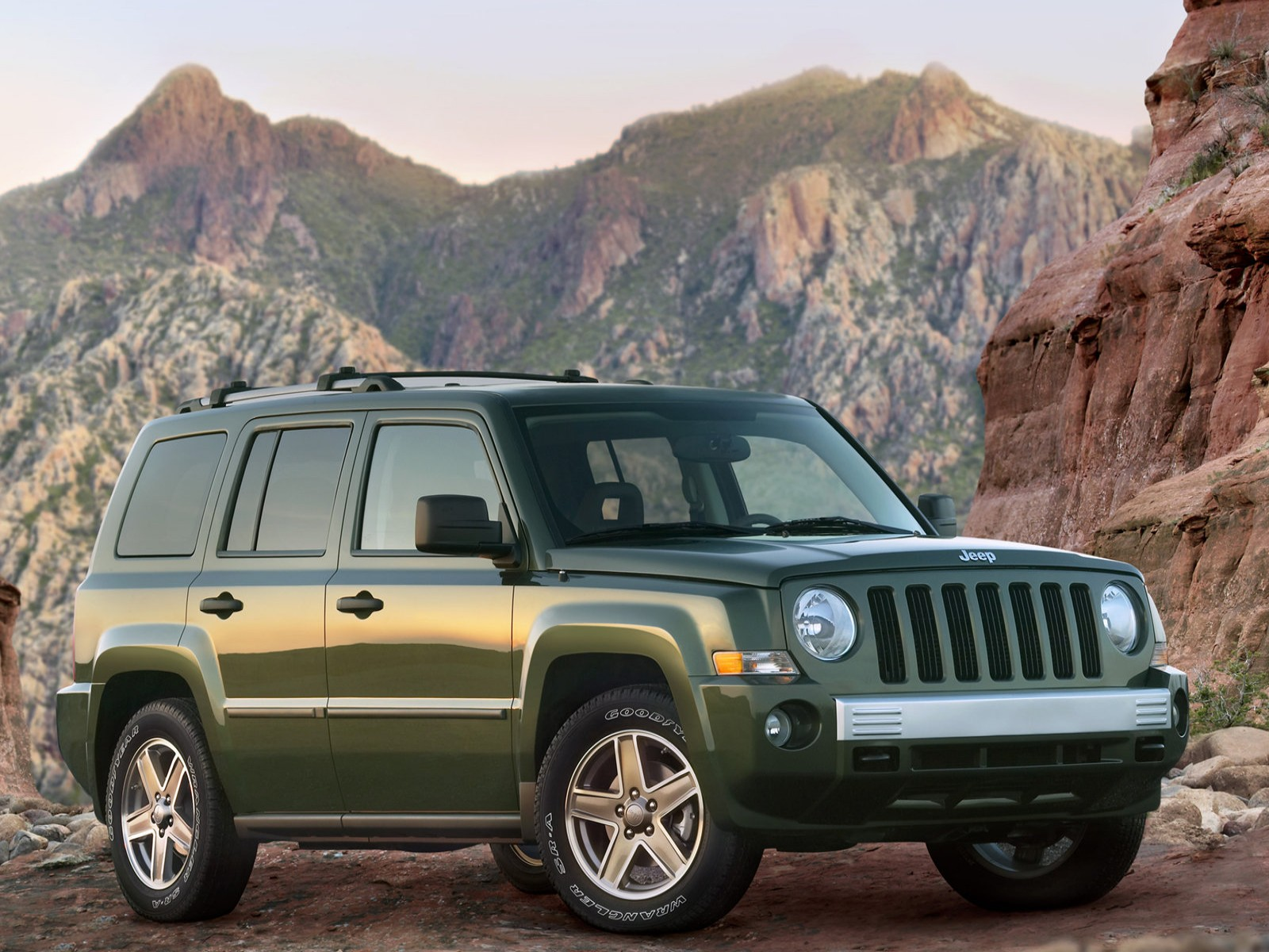 car pictures jeep patriot 2007. Black Bedroom Furniture Sets. Home Design Ideas