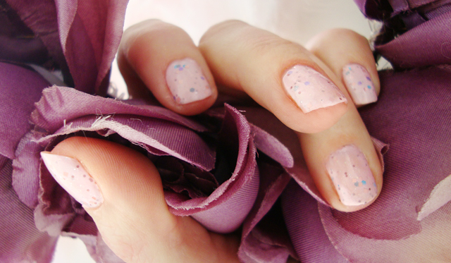 Etude House, Sweet Recipe, glitter, nail polish