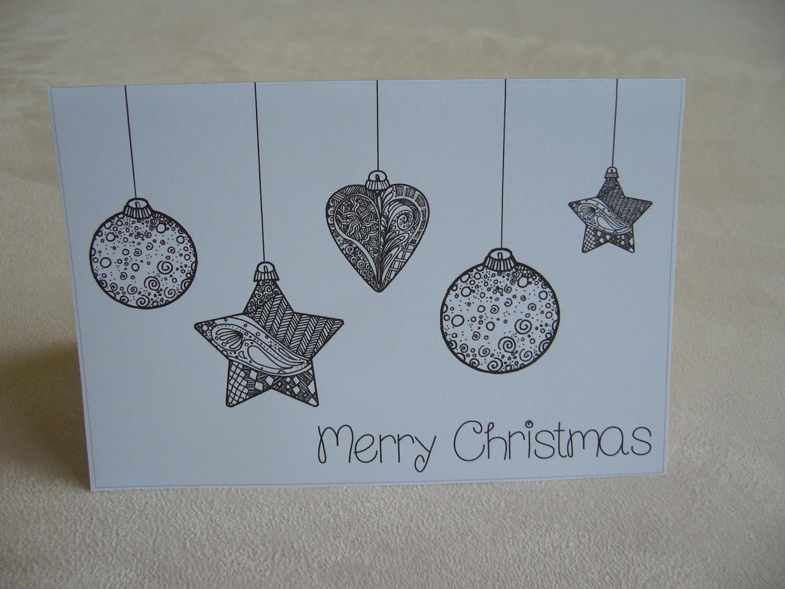 Ideenreise schnelle weihnachtskarten - Weihnachtskarte englisch ...