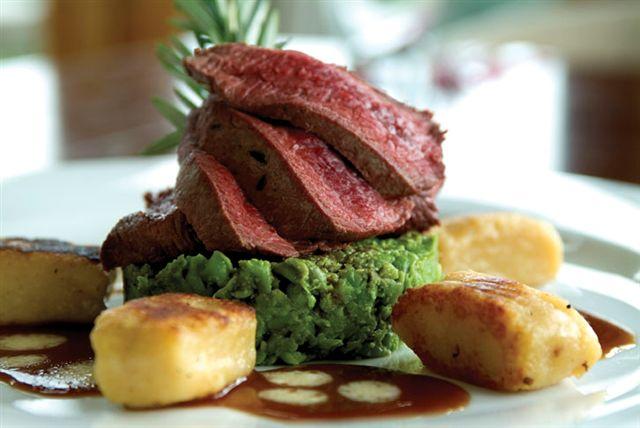 Ses diets ses gradiant for Fine dining food