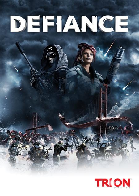 Apocalíptica portada de Defiance