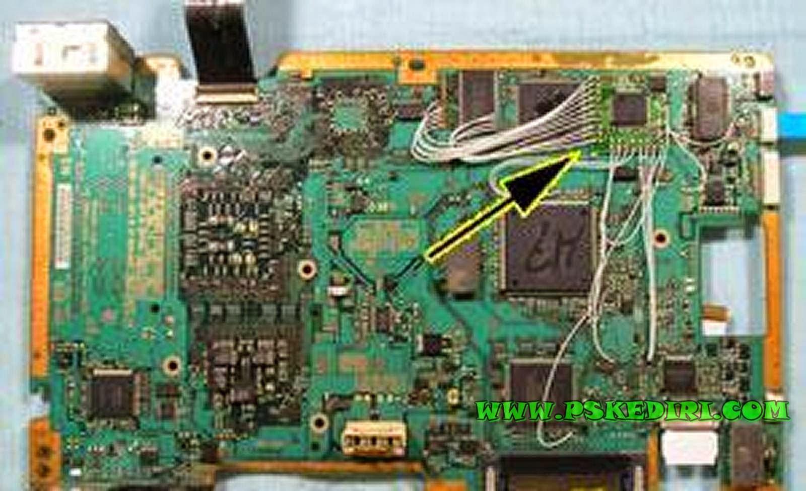 Memasang Modchip PS2