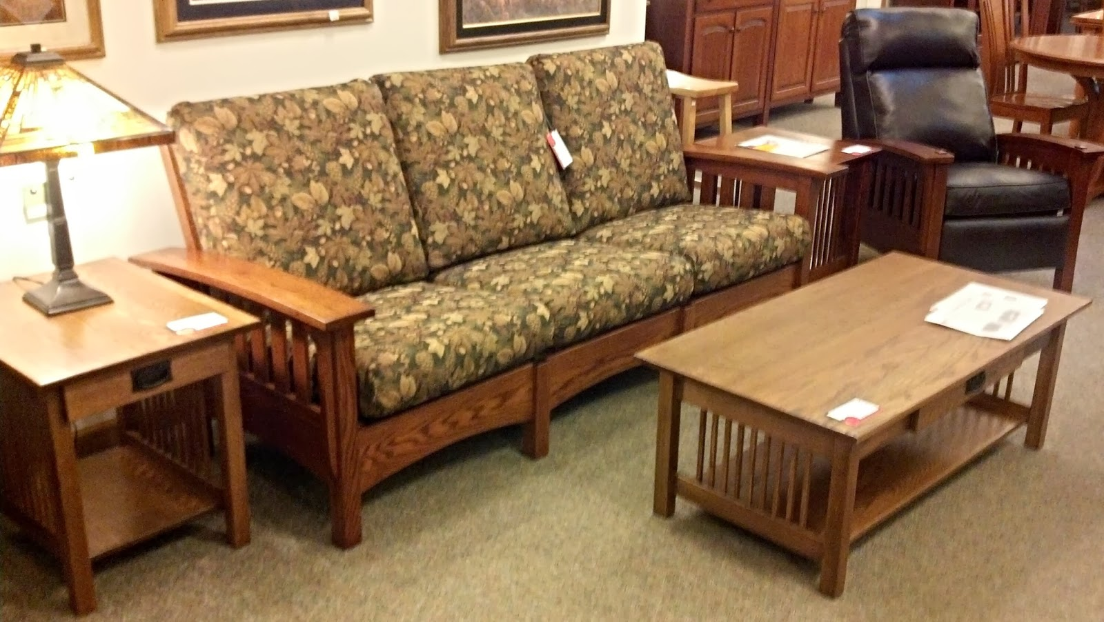 Mission Chair Amish Mission Recliner 17 Images Binghamton Furniture Mission Sofa Recliner