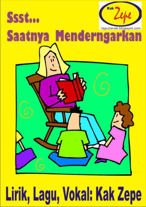 Lagu Anak Untuk Mengajar Anak TK, bila anak ribut di kelas, lagu anak