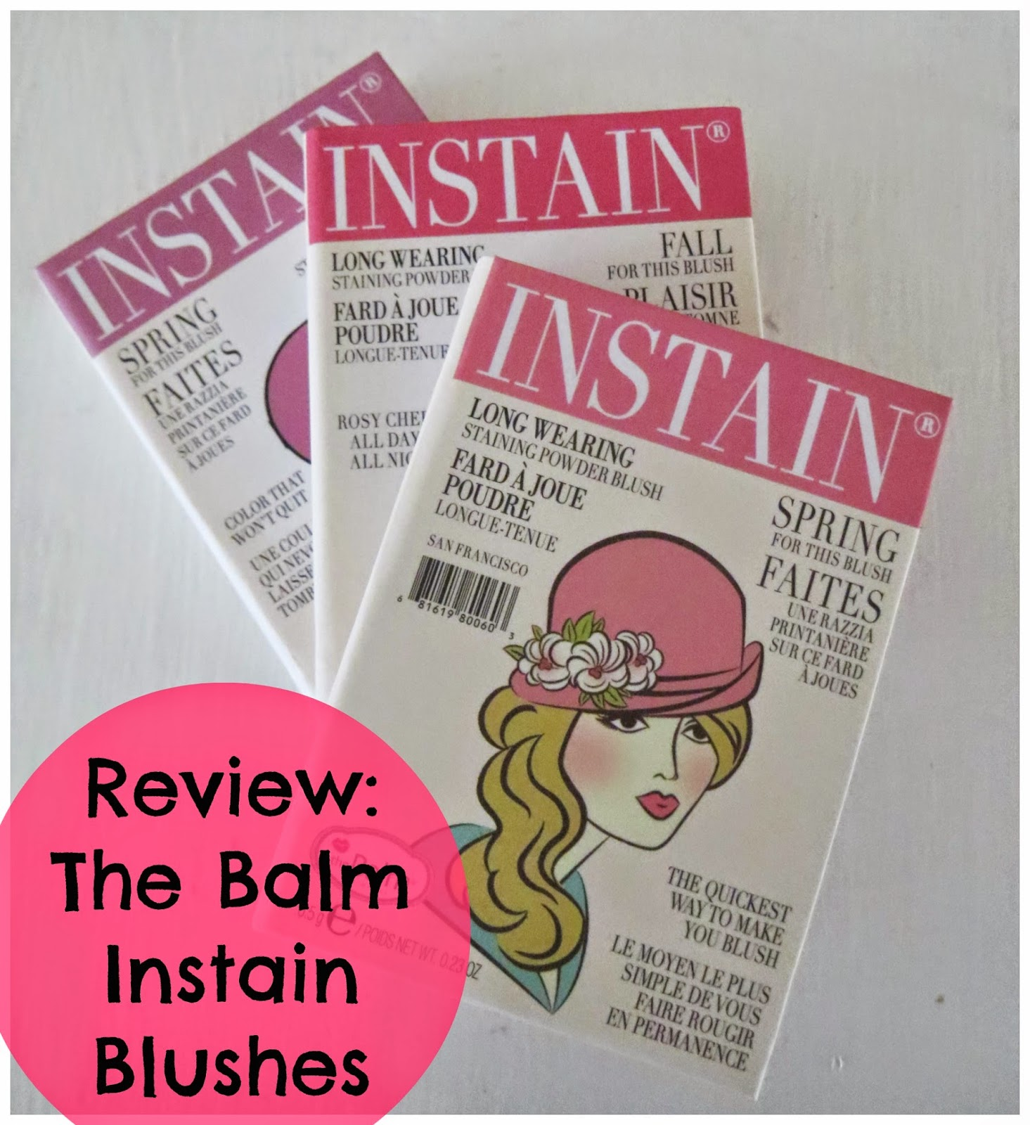 Review: The Balm Instain Blushes (Pink Preference)