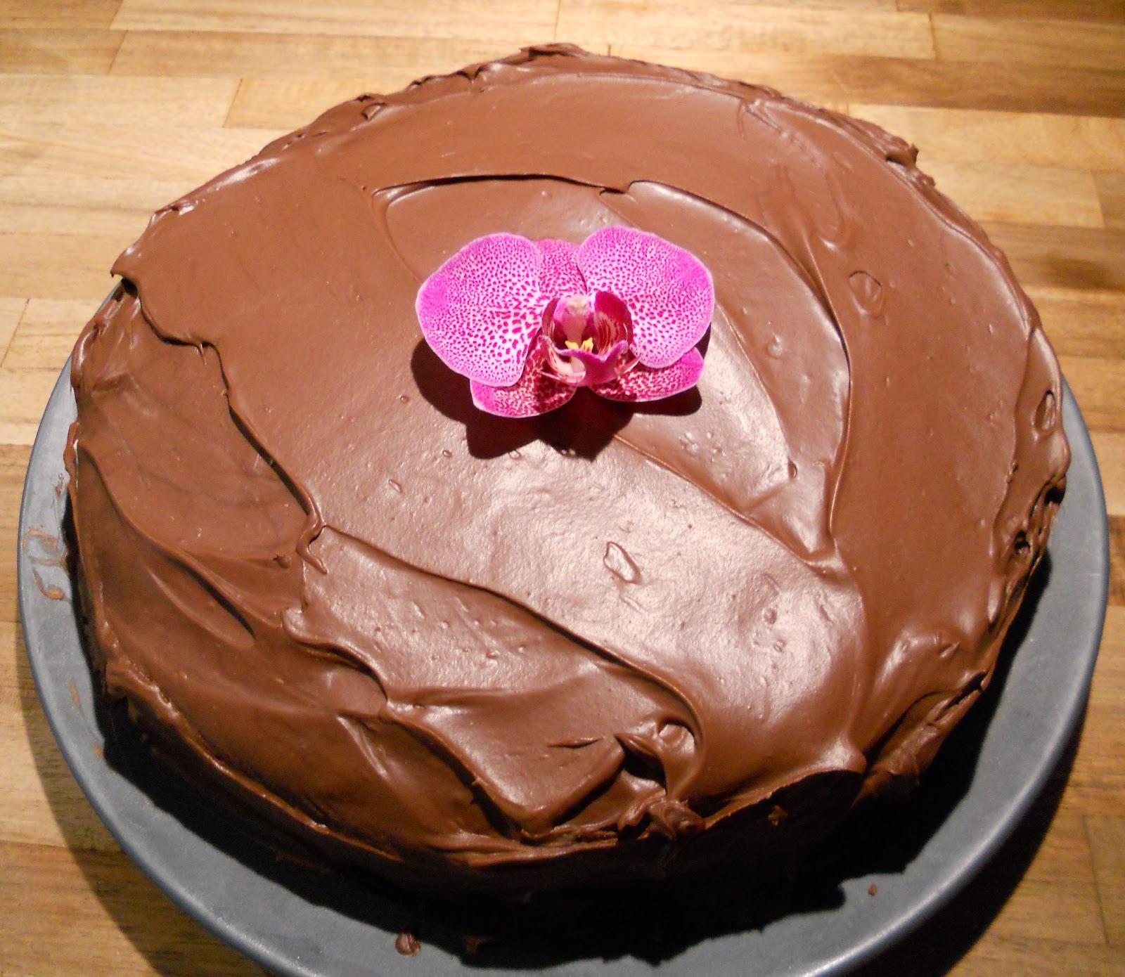 chokladtryffel till tårta