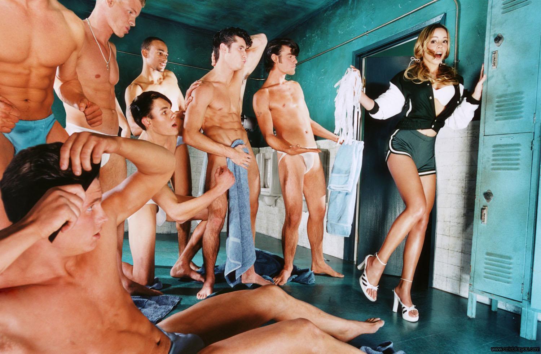 Секс парней с парнями в раздевалке 1 фотография