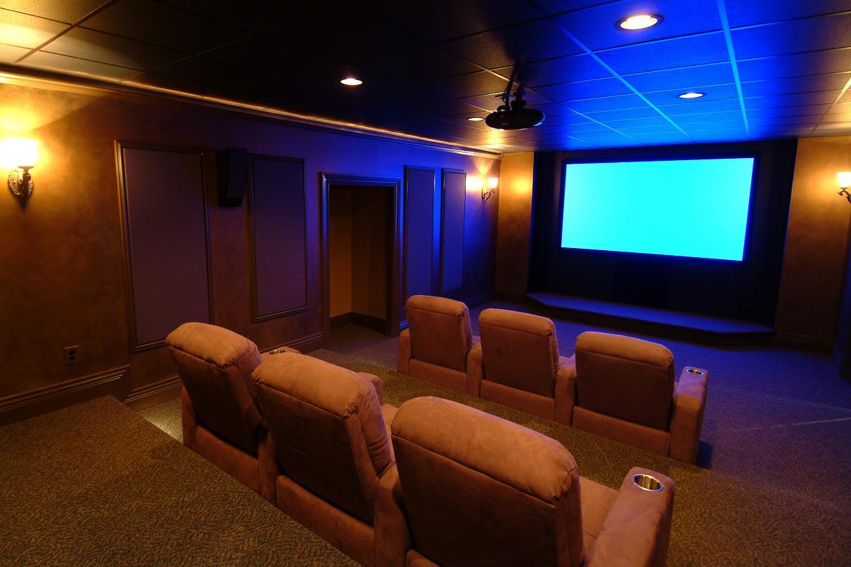 Mi home cinema el primer paso sala dedicada vs sala no - Sala cinema in casa ...