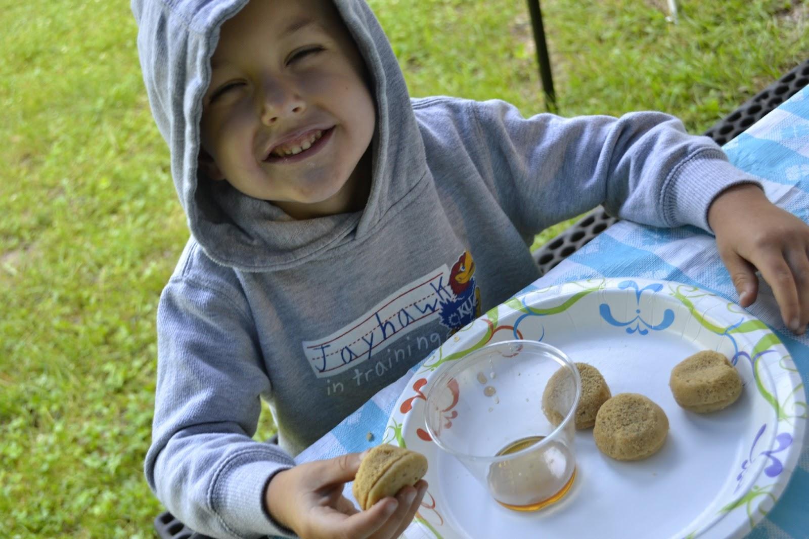 #breakfast #camping #pancake #muffins