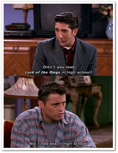 Friends Ross Joey Meme