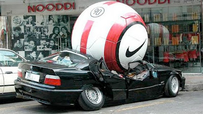 How Football Players Lower Their BMWs