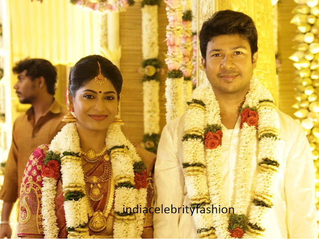 Actress Vijayalakshmi and feroz mohammad wedding photos