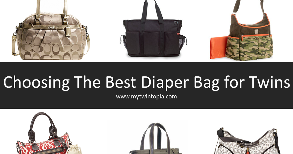 mytwintopia best diaper bag for twins and triplets. Black Bedroom Furniture Sets. Home Design Ideas
