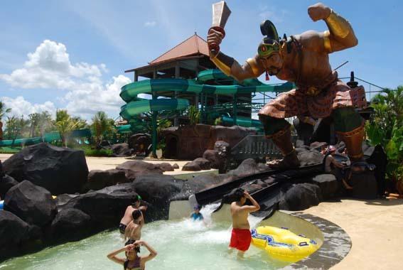 Tempat Wisata di Solo Pandawa Water World Solo Baru