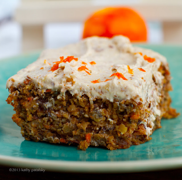 Vegan Carrot Cake with Cream Cheese Frosting and more of the best carrot cake recipes on MyNaturalFamily.com #carrotcake #recipe