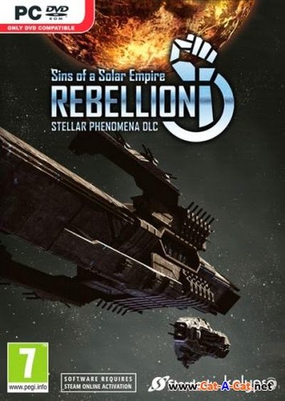 [GameGokil] Sins of a Solar Empire : Rebellion Stellar Phenomena PC Game