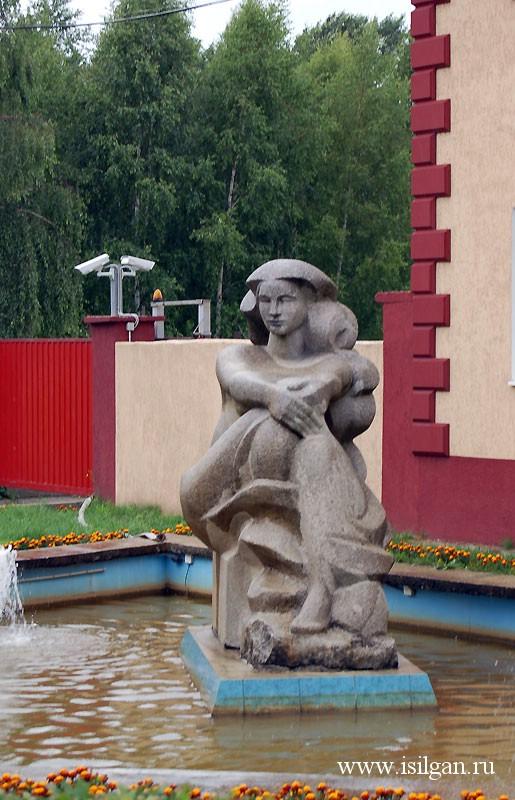 Музей Калининградского янтарного комбината. Поселок Янтарный. Калининградская область