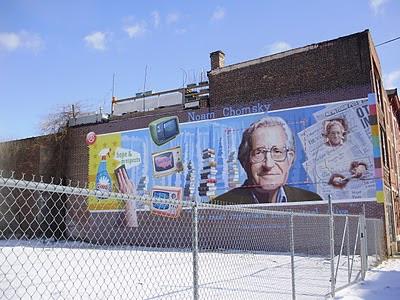 Naom Chomsky Mural