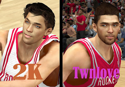 Chandler Parsons Face Comparison Mod