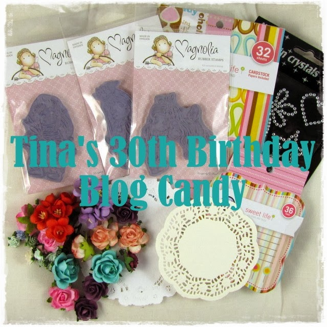 Tina's Blog Candy- happy birthday!
