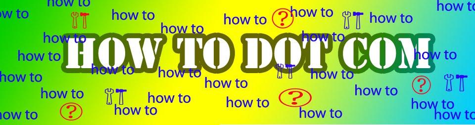 how to dot com