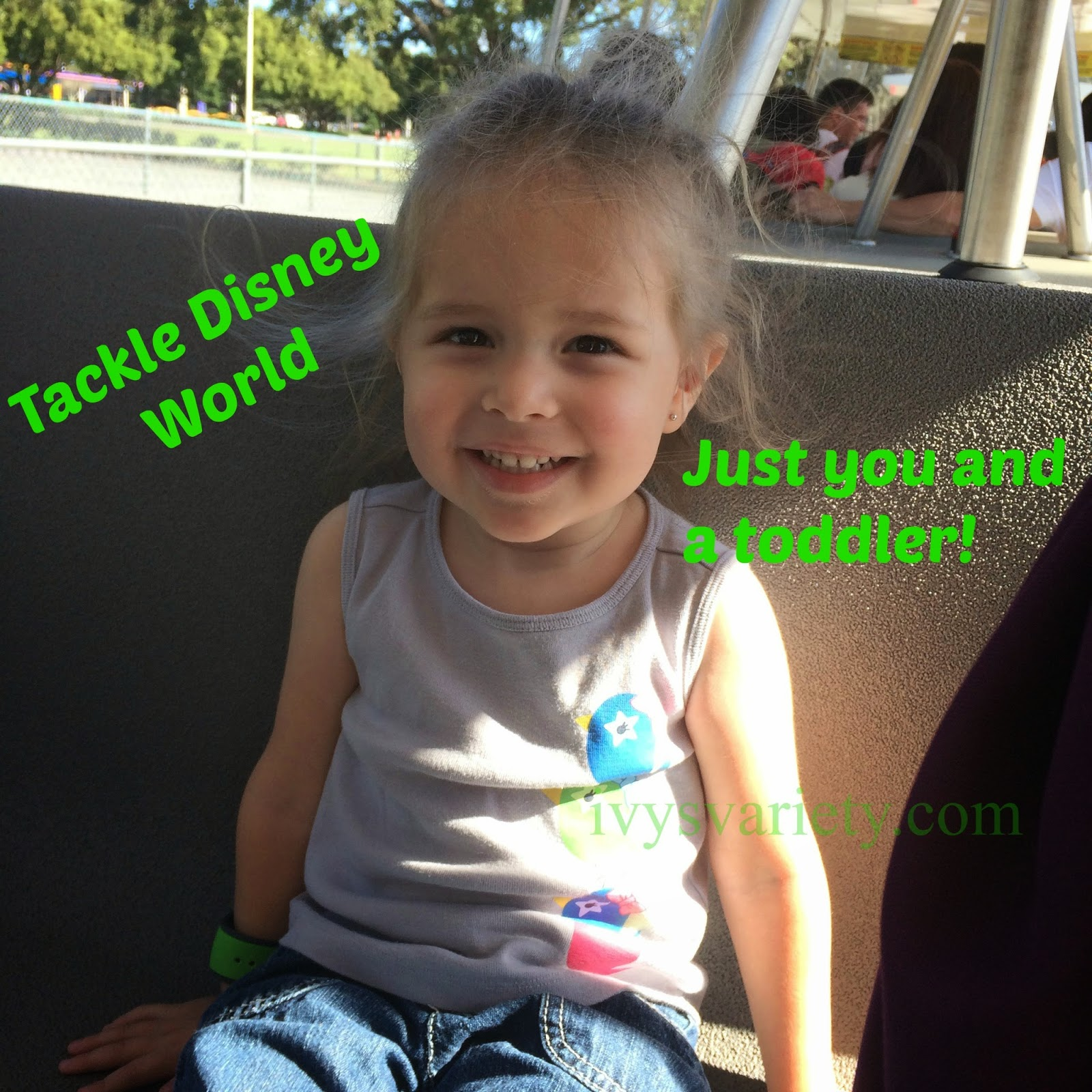 Tackle Disney World when it's just you and a toddler