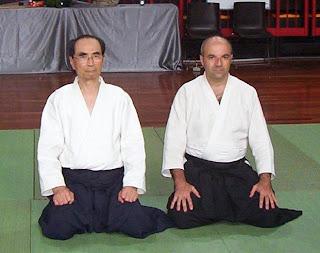 Tada Hiroshi 9° Dan Aikido e Longo Sebastiano