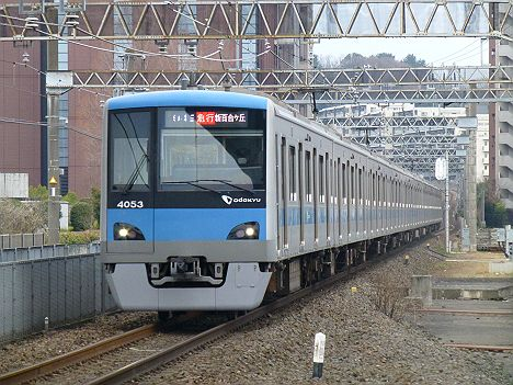 小田急電鉄 急行 新百合ヶ丘行き4 4000形